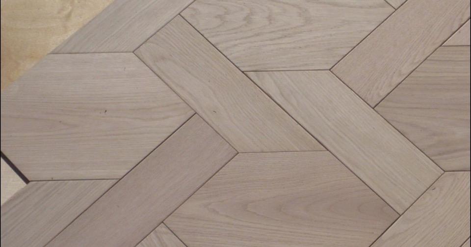 Basketweave bespoke floor by Havwoods