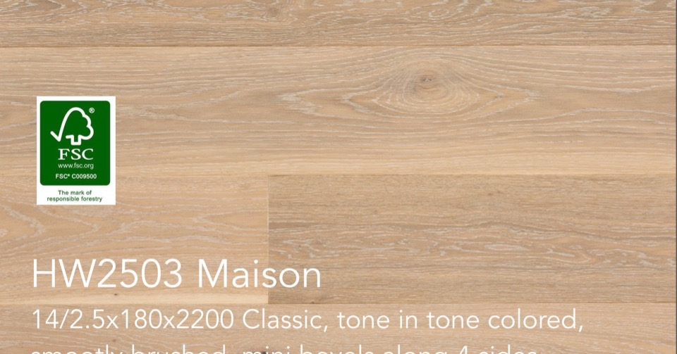 HW2503 MAISON Pureplank Collection