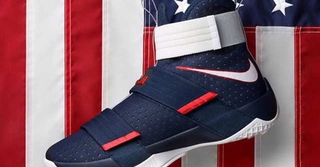 "Nike LeBron Soldier 10 ""USA"" Drops Today"