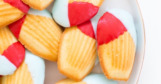 COLOR BLOCK MADELEINES